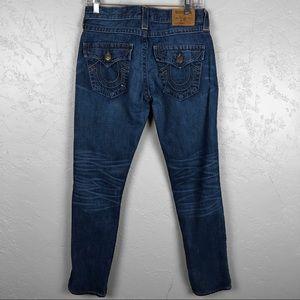 True Religion Jeans - True Religion Distressed Patch Cameron Jeans